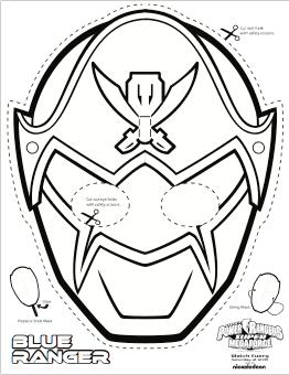Super Mega Power Rangers Printable Coloring Masks Life She Has Power Rangers Megaforce Anniversaire Power Ranger Masques Power Rangers