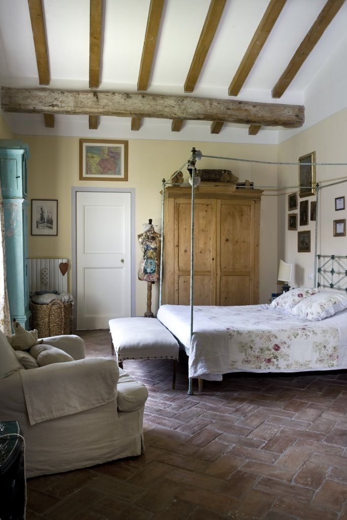 Shabby Chic Bedroom Italian Farm House Cabiancadellabbadessait
