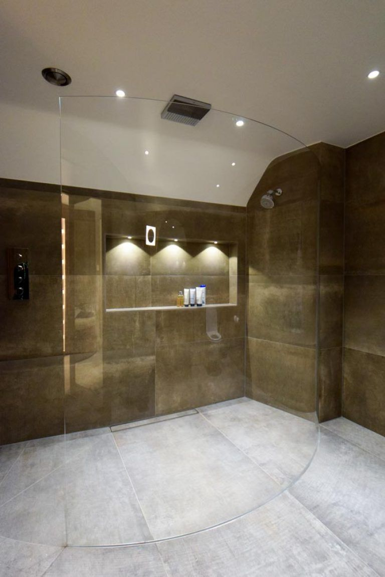 Stylish Glass Shower Screens As A Unique Design Solution My