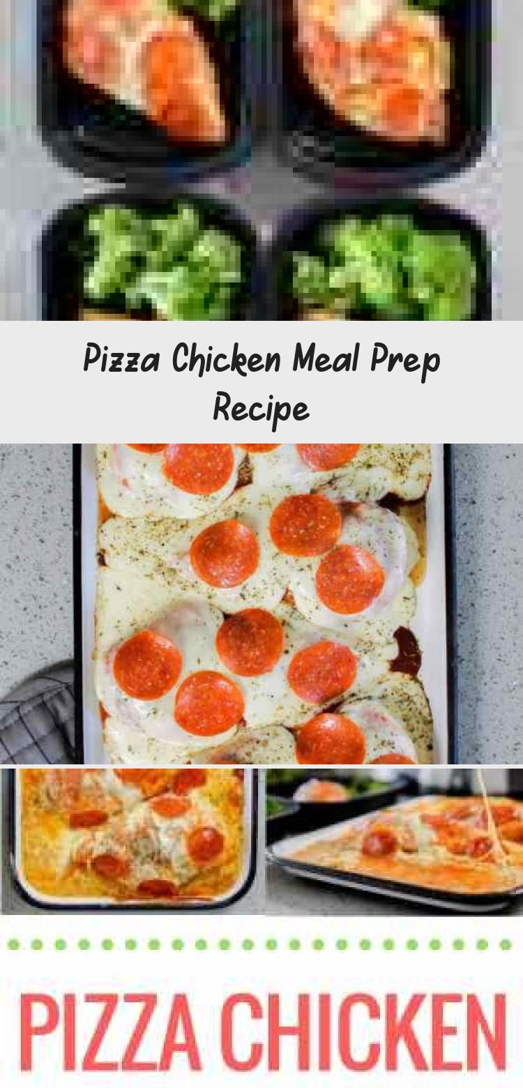 Pizza Chicken Meal Prep Recipe So when your craving for pizza kicks in sometimes daily for us you can satisfy it with this proteinpacked low carb meal prep recipe that ca...