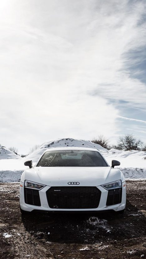Audi R White Iphone Wallpaper Free Want Free Download in