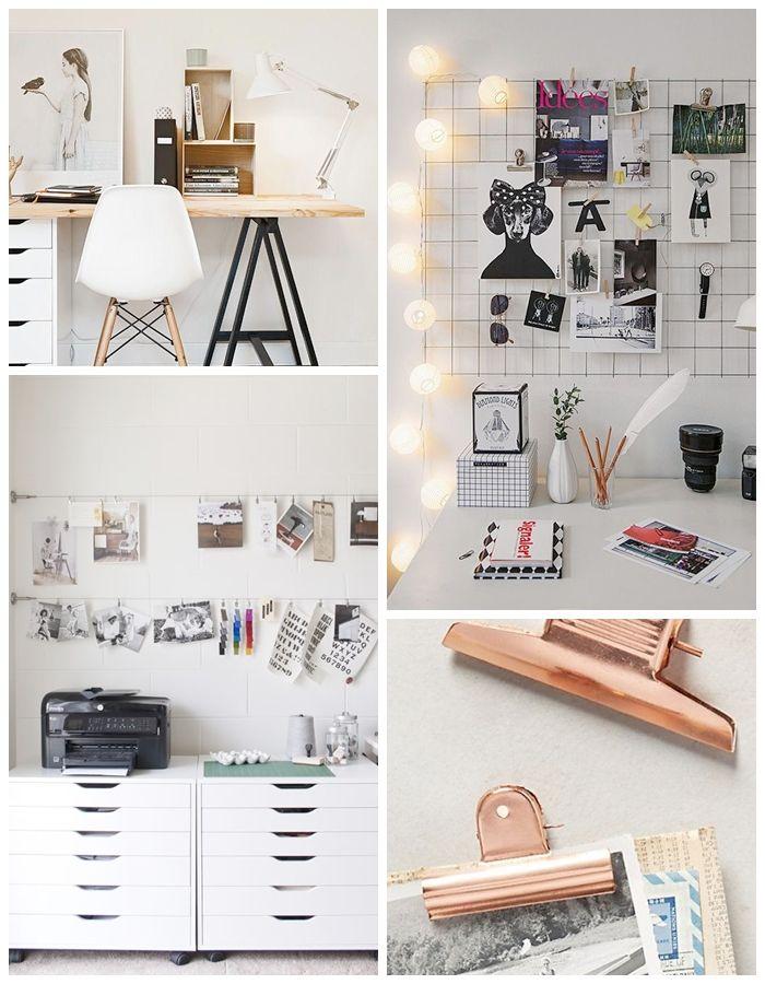 interior inspiration so wird mein neuer arbeitsplatz einrichten wohnen pinterest. Black Bedroom Furniture Sets. Home Design Ideas