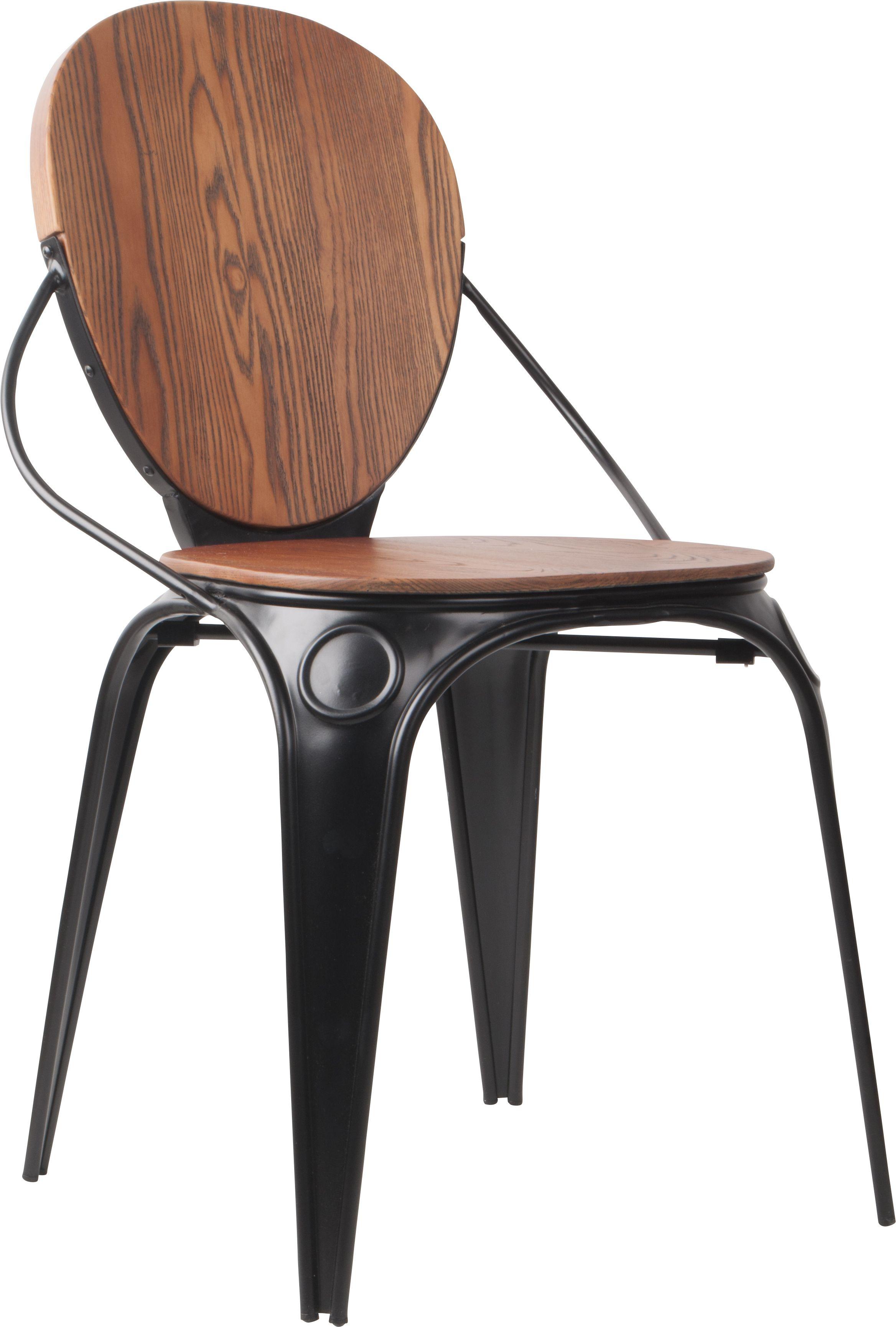 Louis Antique Chair Black Chair Chaise Stuhl Stoel Retro