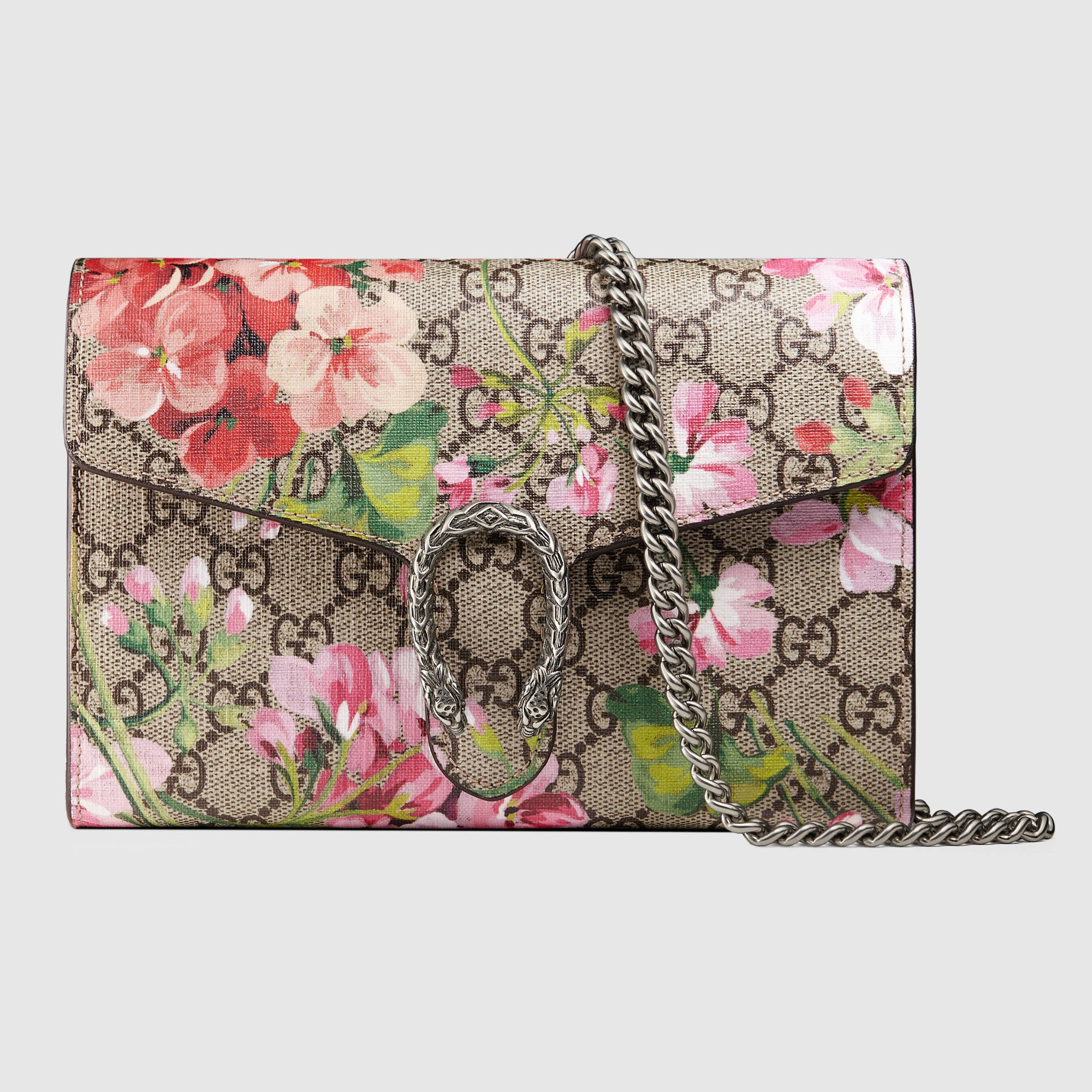 ccdb6dd62dd2 Dionysus Blooms print mini chain bag | My... Gift List! | Gucci ...