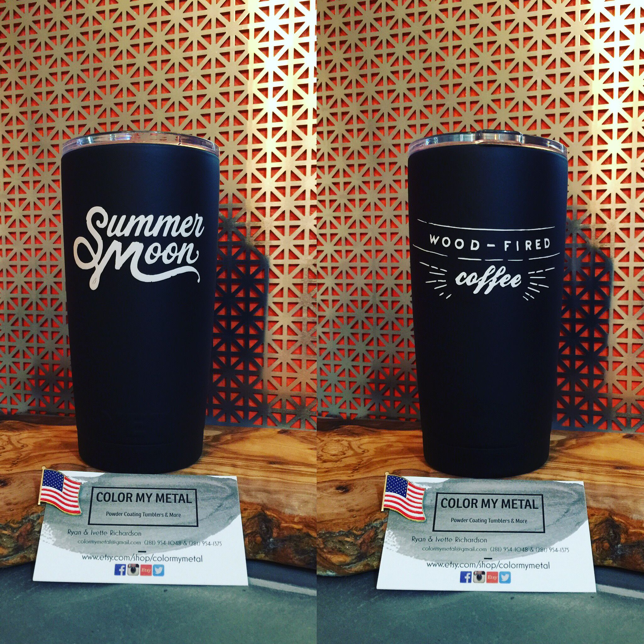 Get Your Own Personalized Yeti Tumbler RTIC Tumbler Yeti Cup - Custom vinyl decals for tumblers