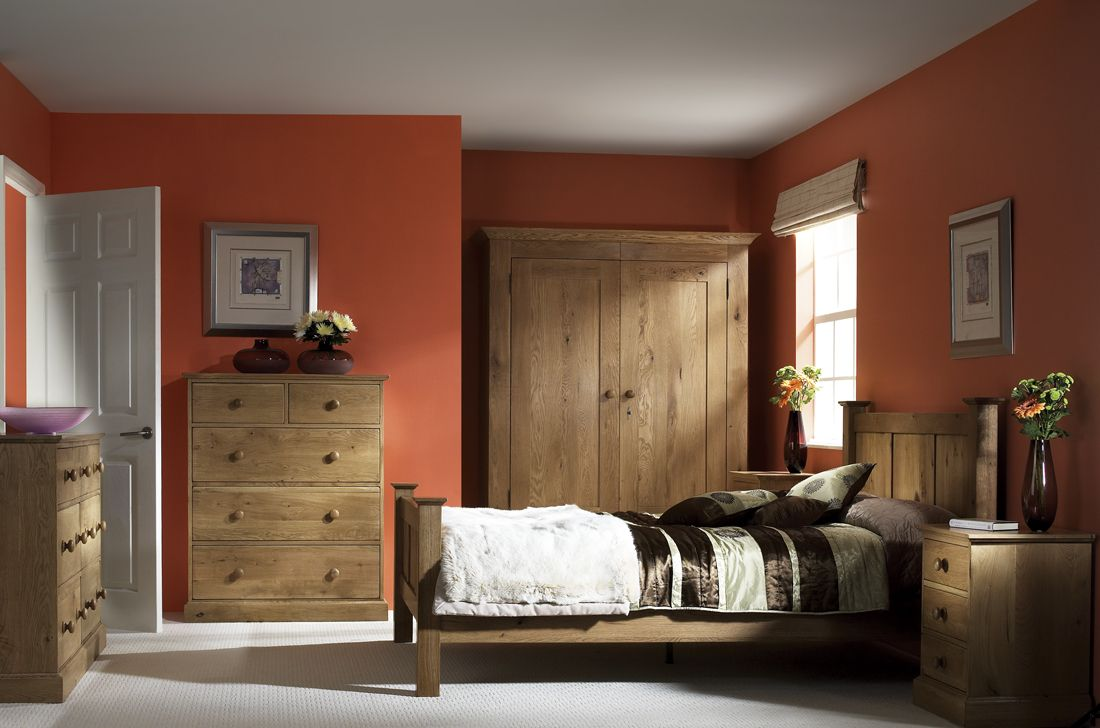 Country Oak #Bedroom Furniture