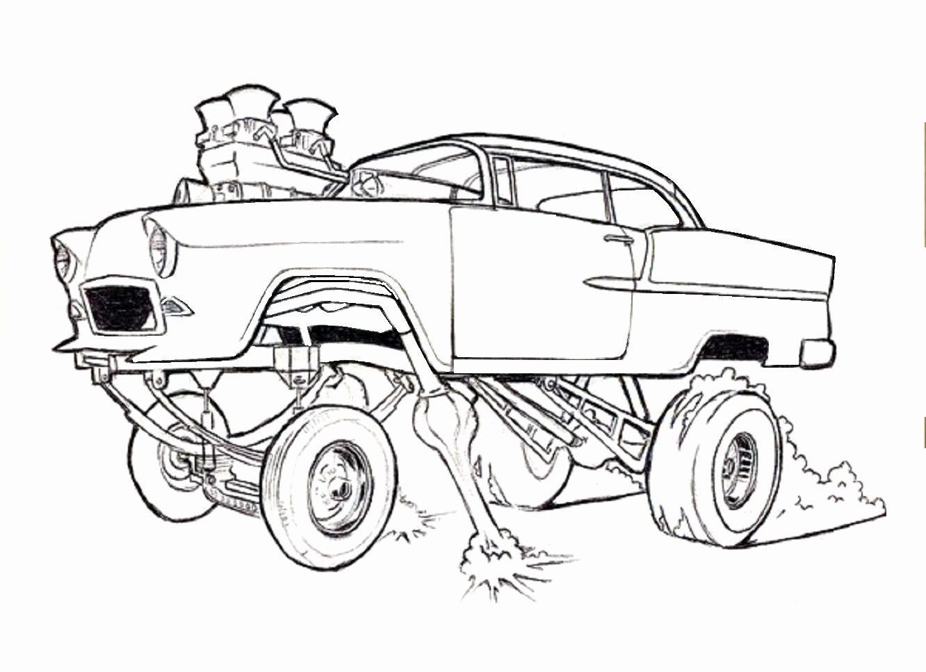 Coloring Pages Cars Trucks Fresh Coloring Ideas Dune Buggy