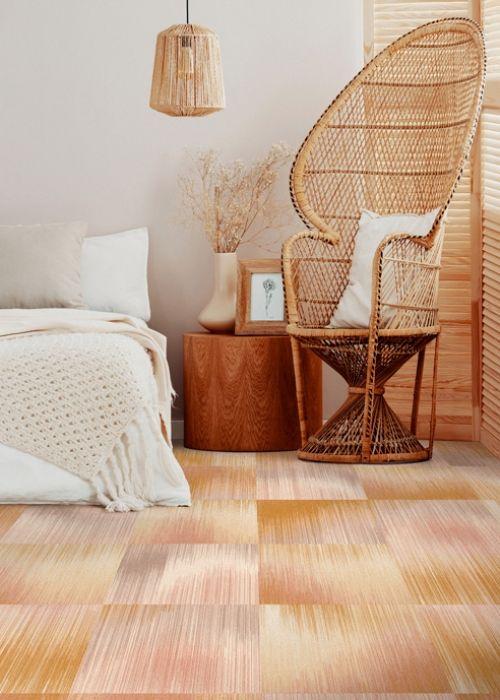 teppich wohnzimmer und schlafzimmer designs