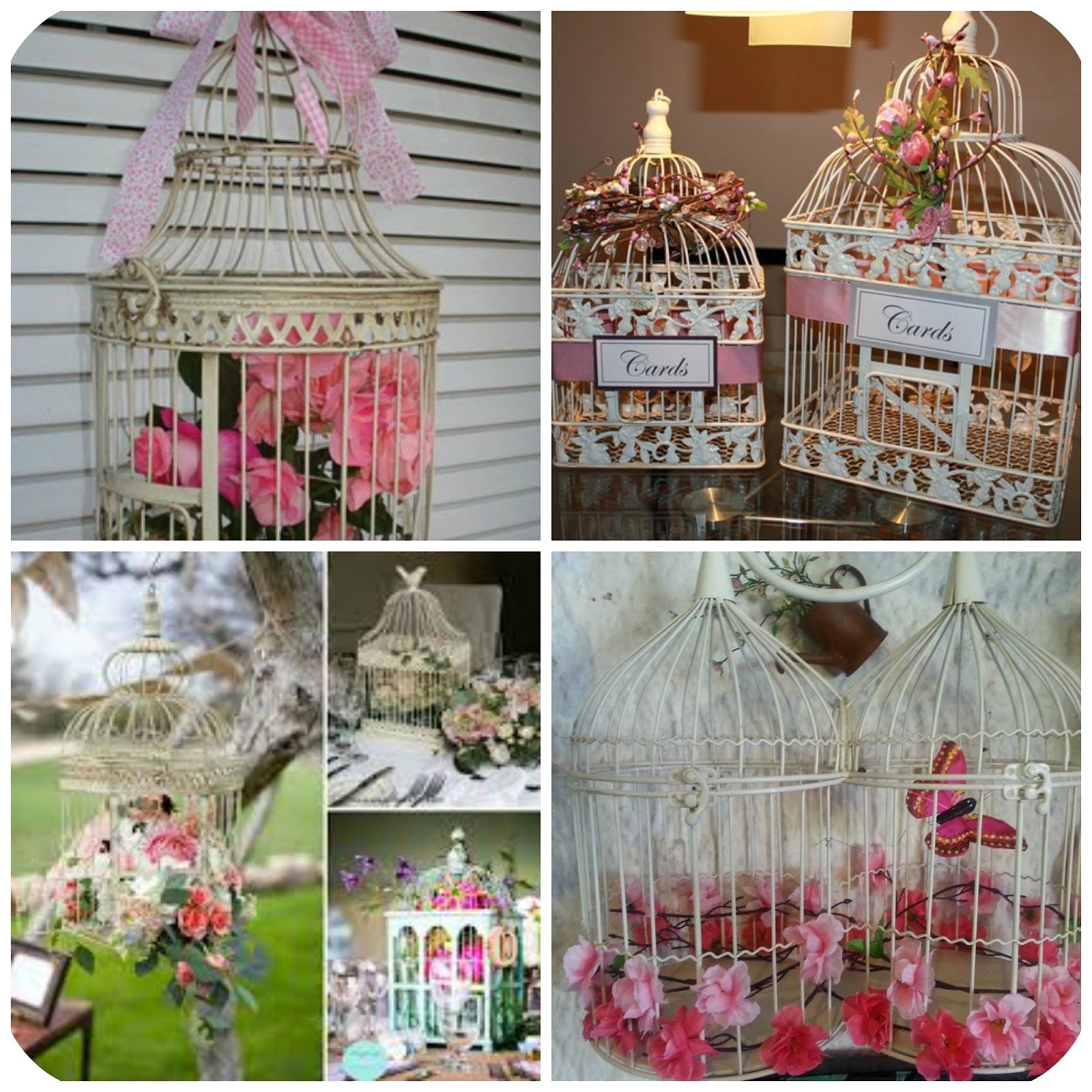 Jaulas decoradas con flores buscar con google enjaulados pinterest vintage and decorating - Jaulas decoradas vintage ...