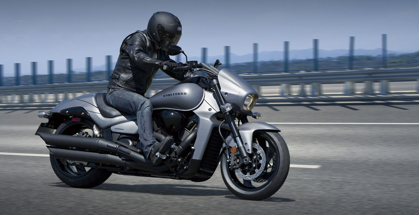 Two new colours for 2016 suzuki boulevard black edition behind the wheel