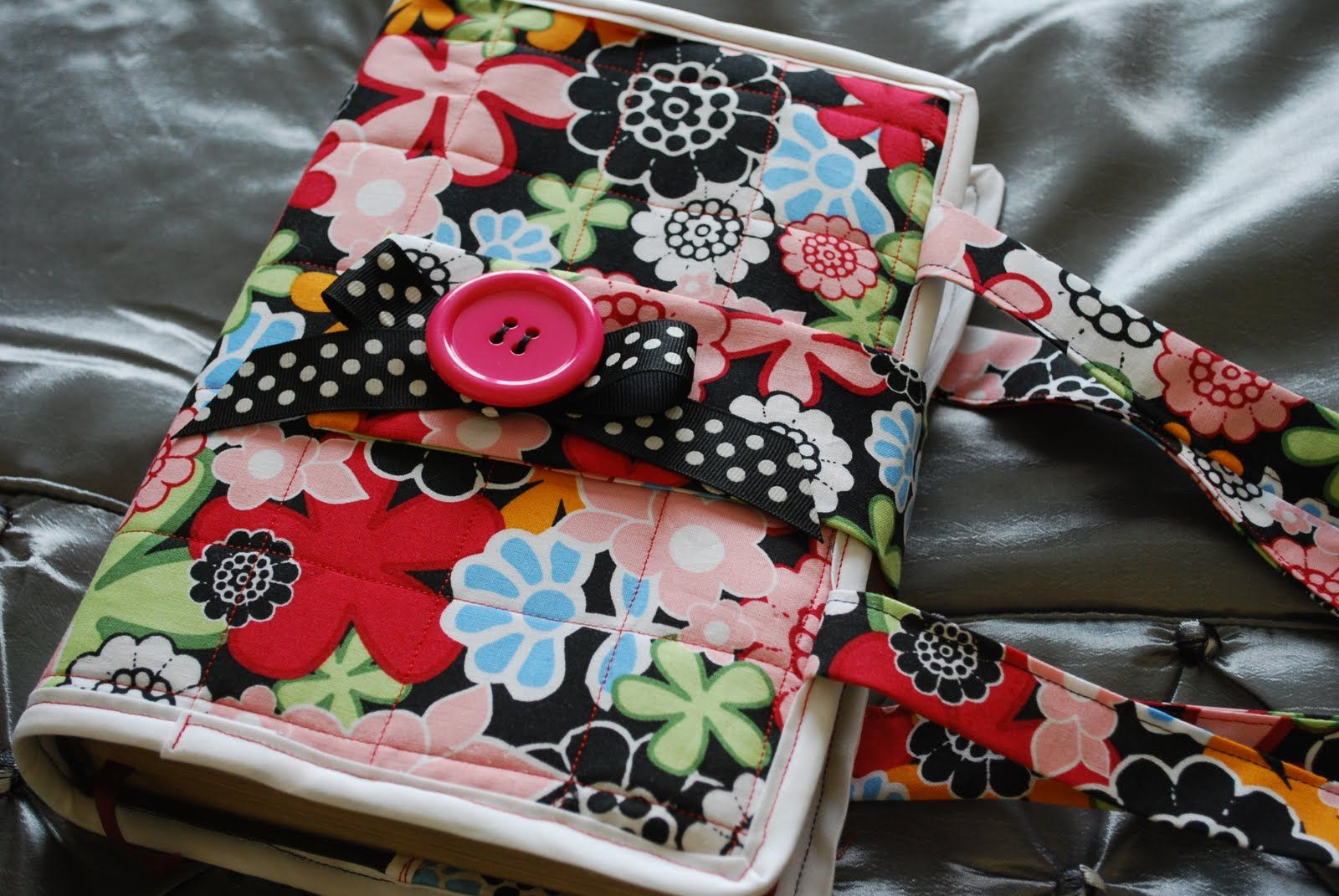 Easy Fabric Book Cover Patterns : Easy bible cover pattern free tutorial