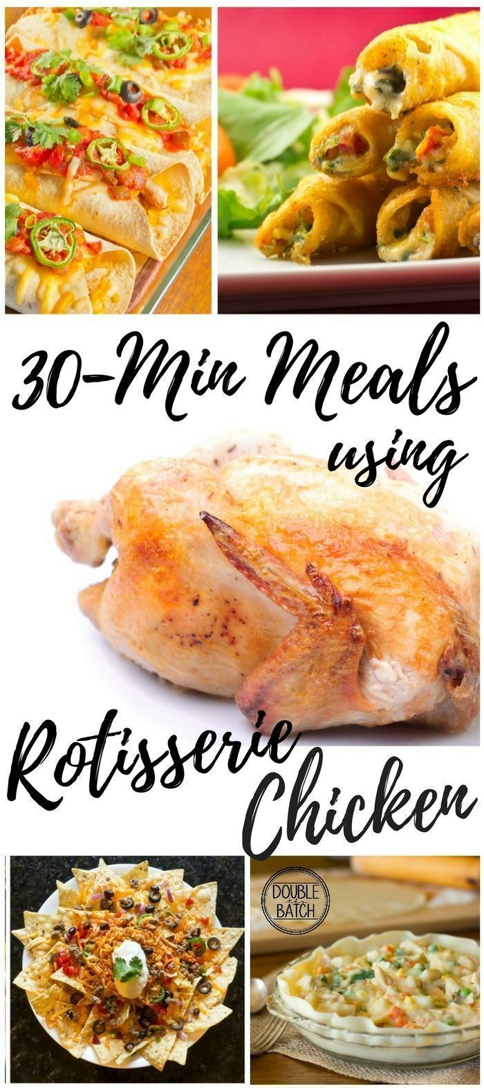 Rotissoire Chicken Recipes: 30-min meals using leftover chicken images