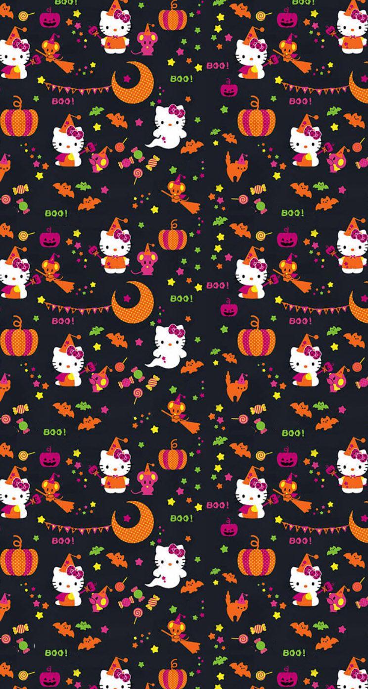 Hello Halloween Hello Kitty Halloween Wallpaper Hello Kitty