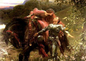 I have a framed print of this in my bedroom. It's by the pre-Raphaelite painter, John William Waterhouse.