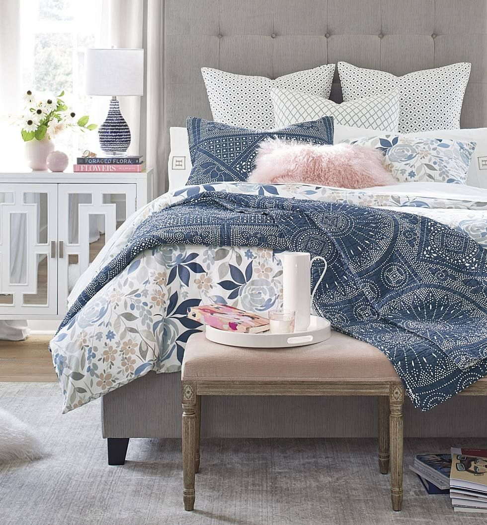How to Layer Bedding (ORC Week 4 Stylish bedroom, White
