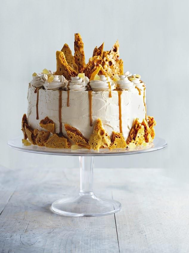 The most brilliant Bake Off yet: Bonfire night ginger cake