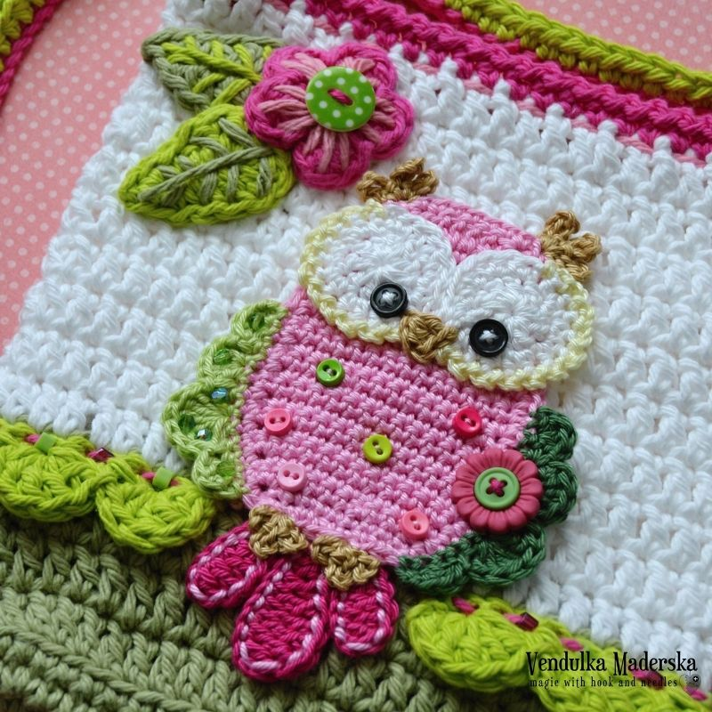 Owl Purse Crochet Pattern By Vendulkam Owl Purse And Crochet