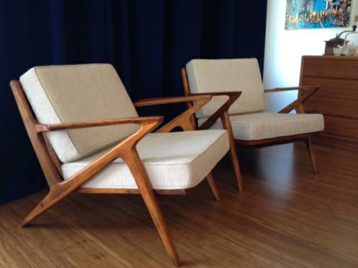 Amazing Mid Century Teak Lounge Chairs Home Decor In