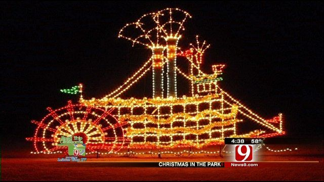 Yukon Ok Christmas Lights.Christmas Spirit In The Air In Yukon News9 Com Oklahoma