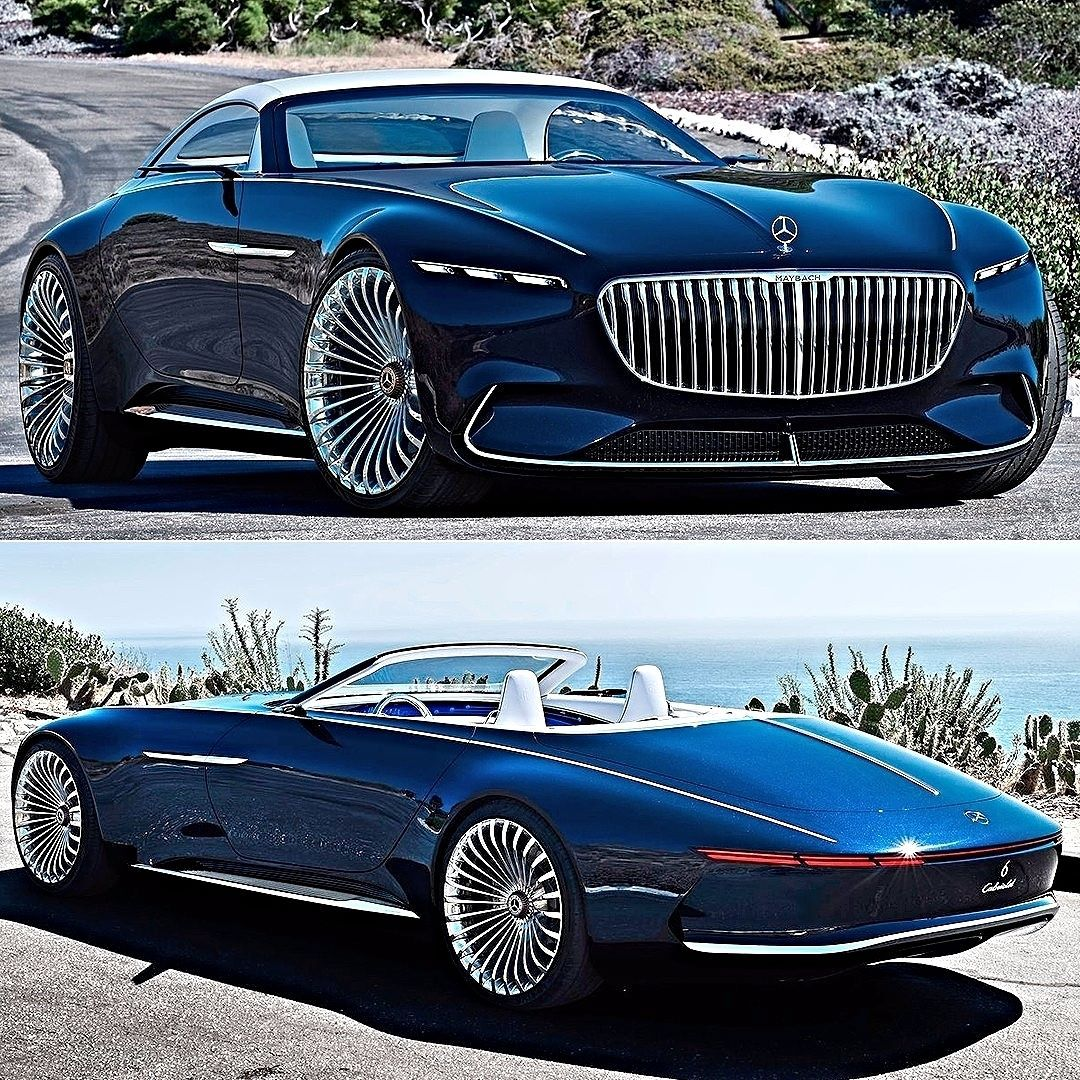 Mercedes-Maybach Vision 6 Cabriolet Concept 2017 Pebble