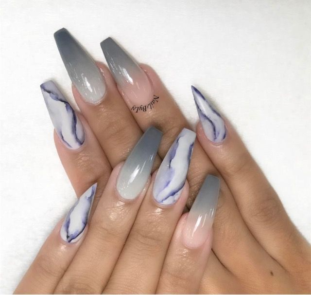 Acrylic Nail Art Designs Simple Claw Nails Hot Comment Coffin Tutorials Nice
