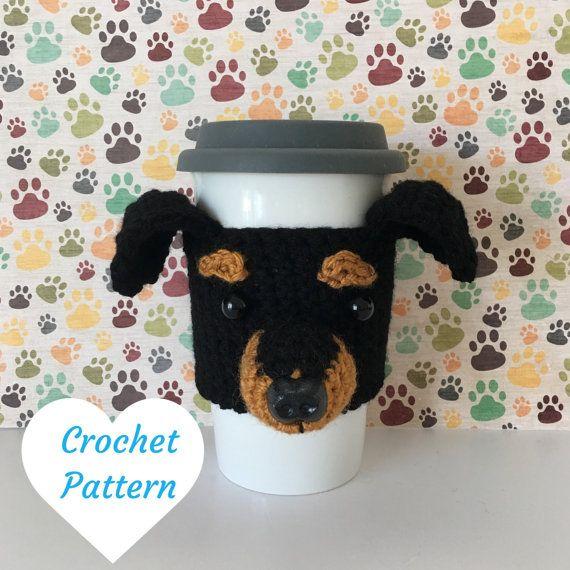Dog Crochet Pattern - Crochet Min Pin - Amigurumi Patterns - Amigurumi Pattern - Crochet Pattern Dog - Crochet Dog Pattern - Amigurumi Dog by HookedbyAngel
