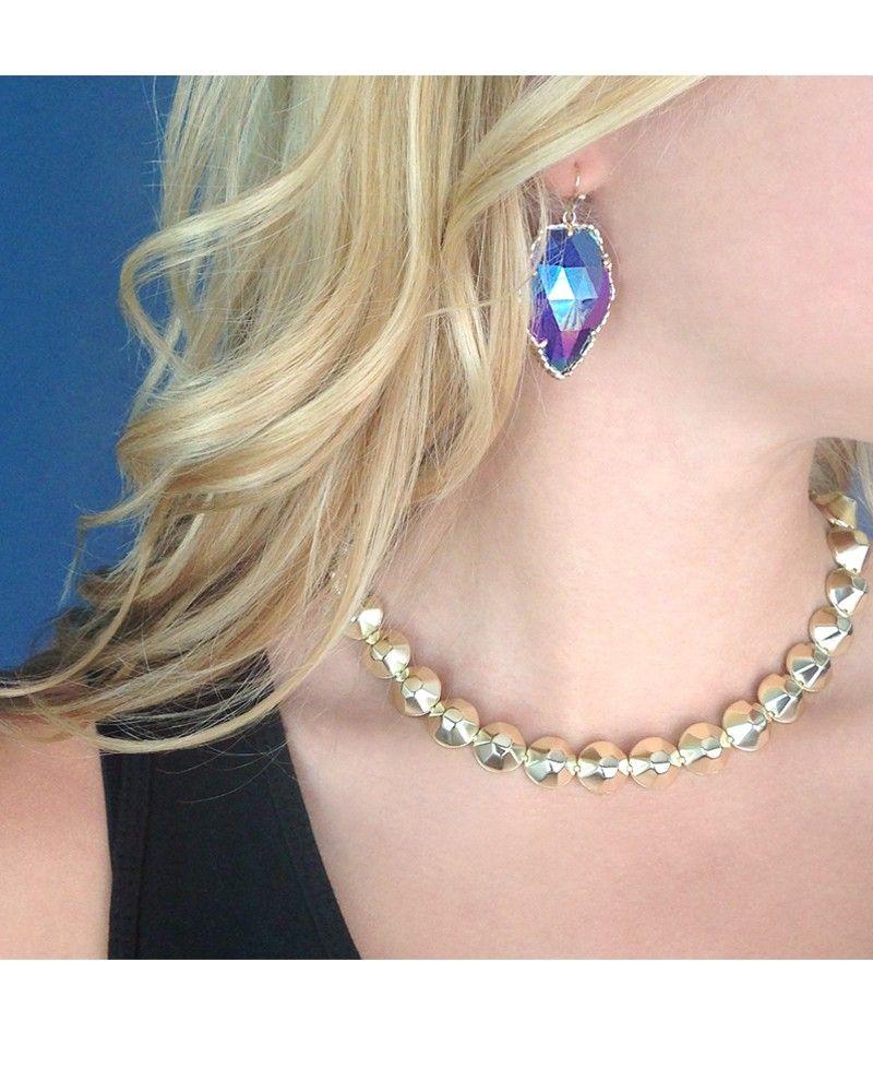 Corley Drop Earrings In Iridescent Cobalt Kendra Scott Jewelry Coming October 15