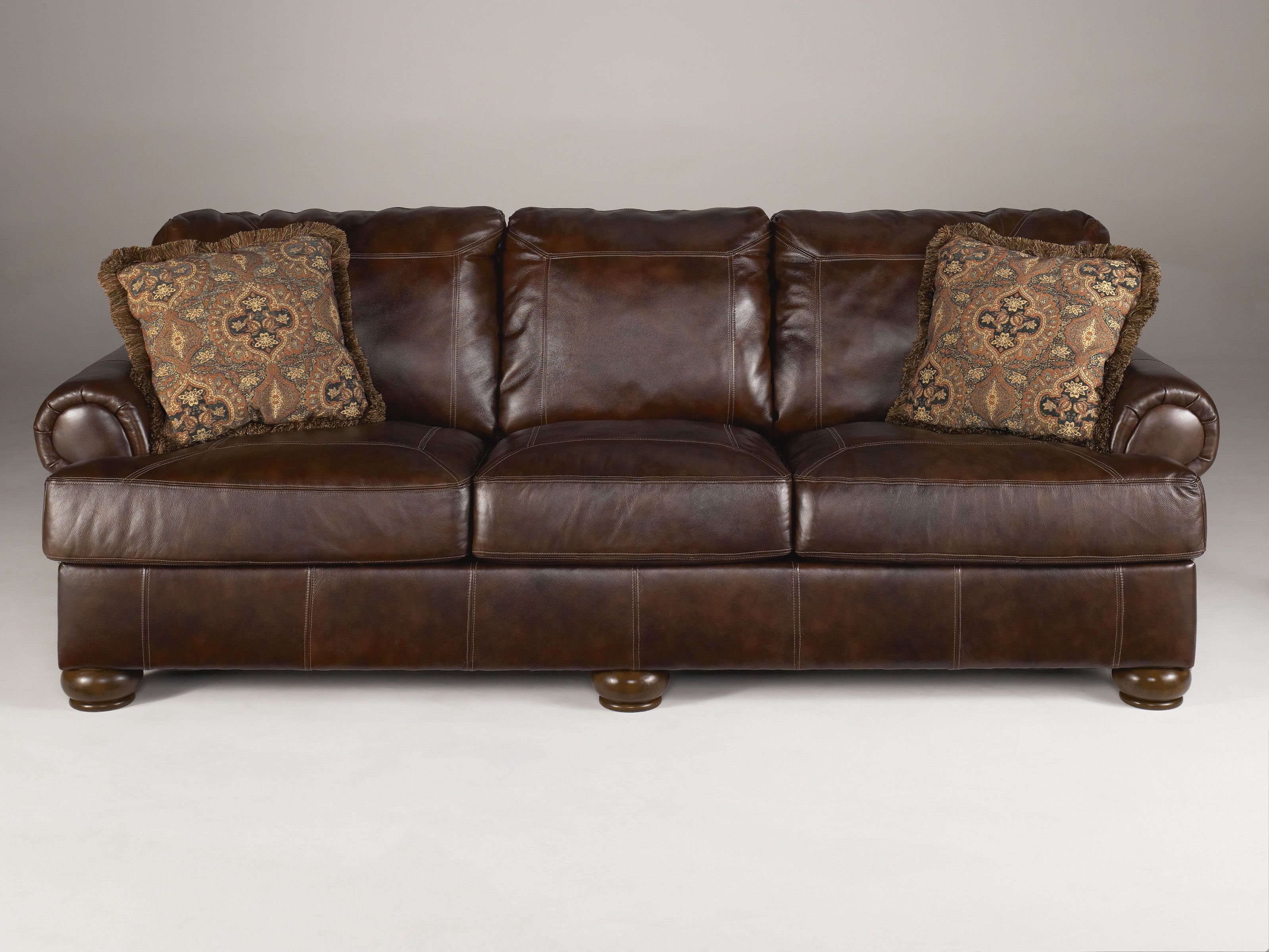 Cool Leather Couch Ashley Furniture , Unique Leather Couch Ashley Furniture  87 For Your Sofa Table