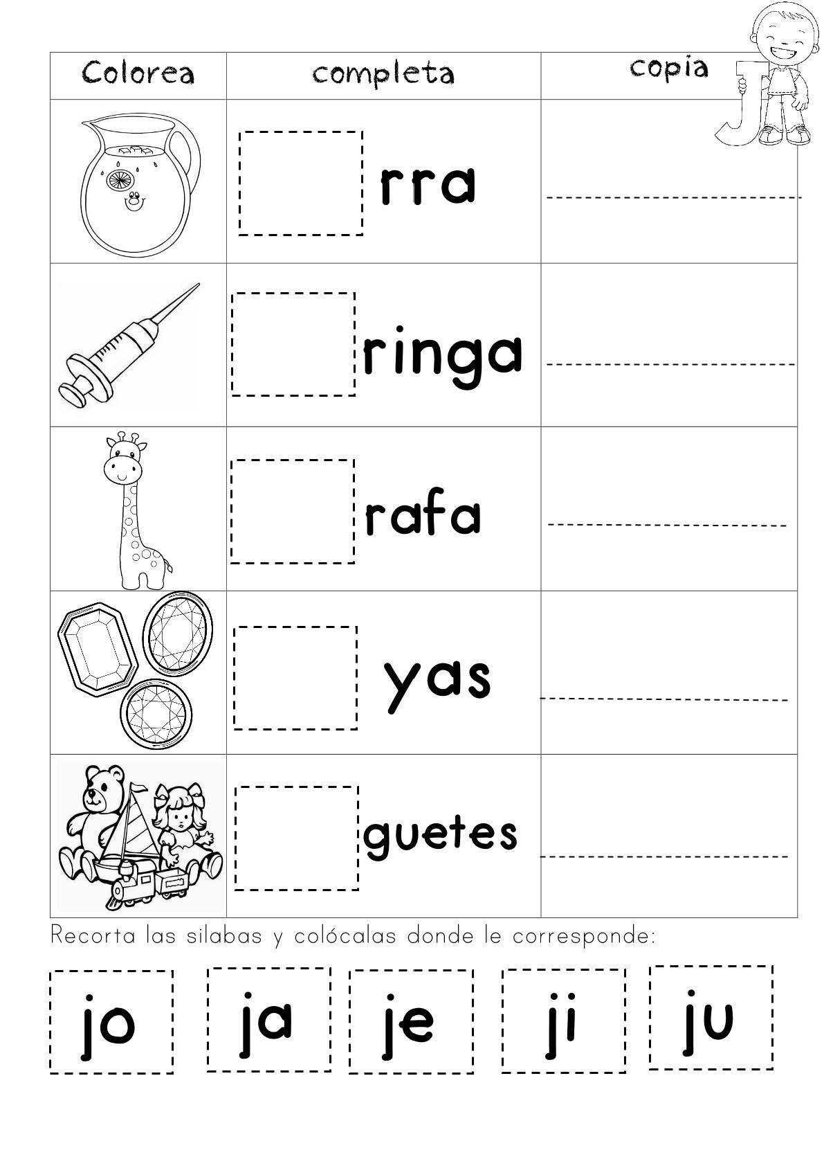 Pin En Lecto Escritura Preescolar