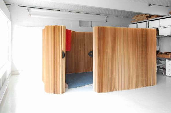 Softshelter Lets You Build Temporary Walls In Minutes Room
