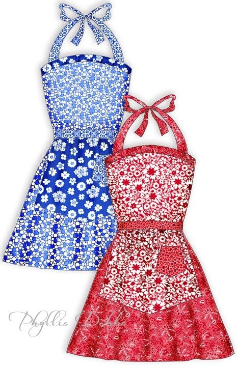Free Patterns for Aprons and Quilts by FGFheadhonker | Aprons ...