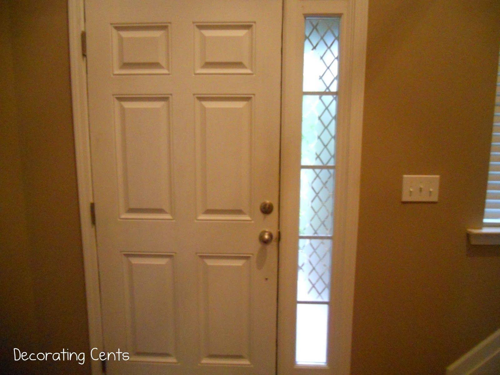 Decorating Cents Outside Looking In   Front doors with windows ...