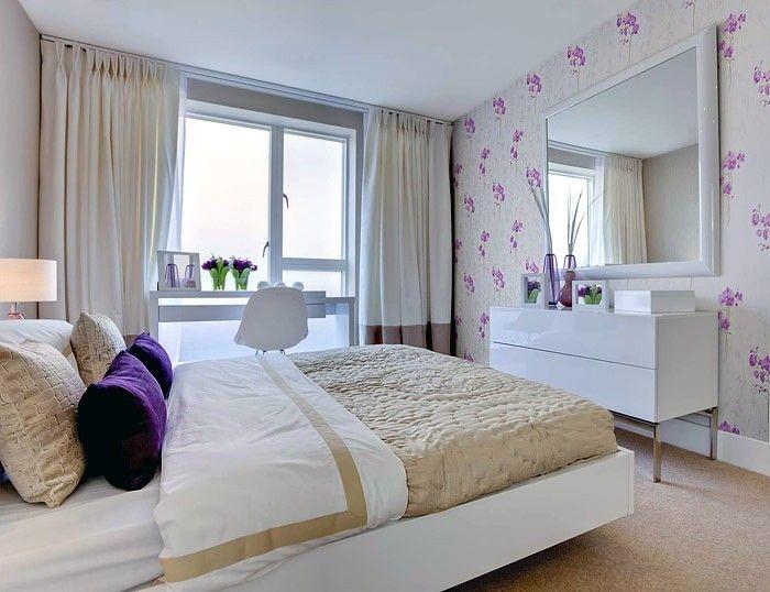 hellblaue schlafzimmer streichen idee für optische - tapete für schlafzimmer
