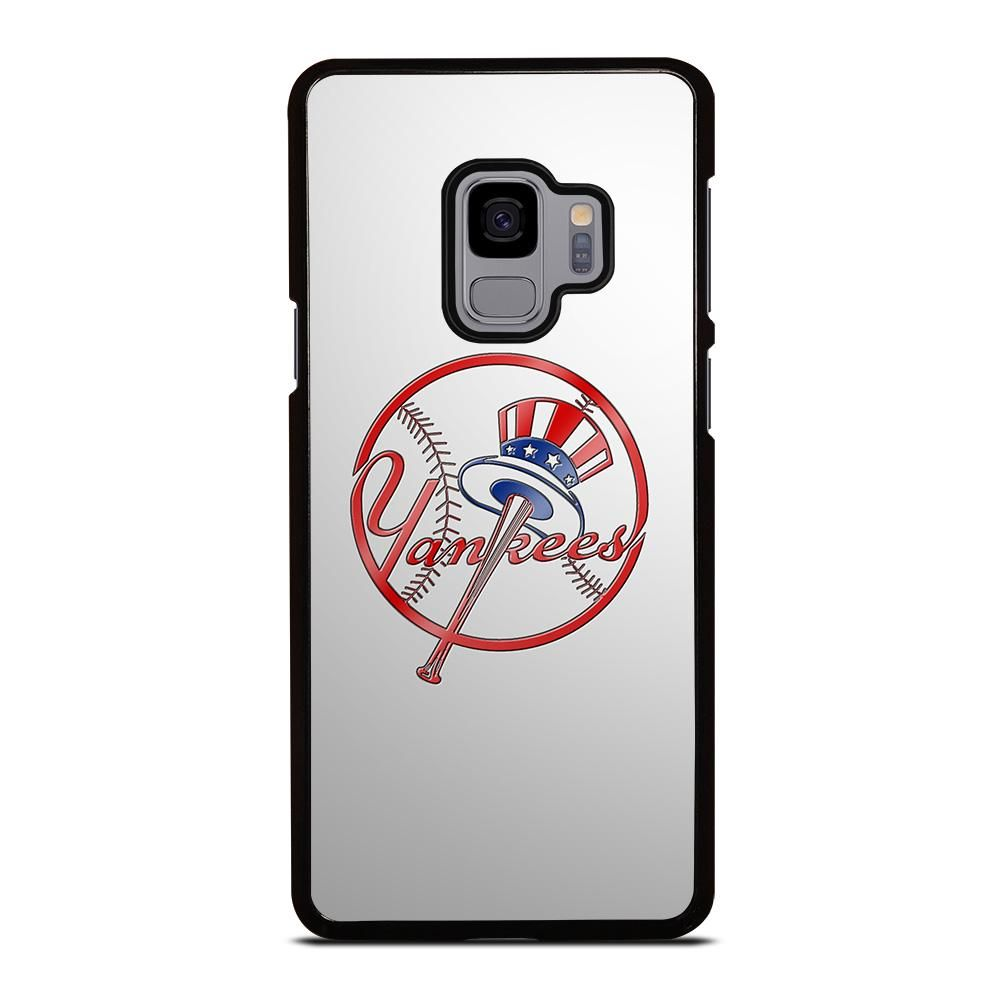 New York Yankees Icon Samsung Galaxy S9 Case Cover In 2020 Samsung Galaxy S9 Case Cover Samsung Galaxy