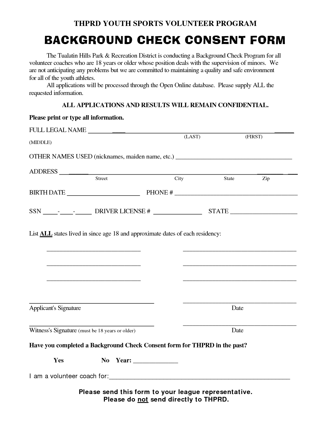 Background Check Consent Form Template The top 2 Background Check – Background Check Form