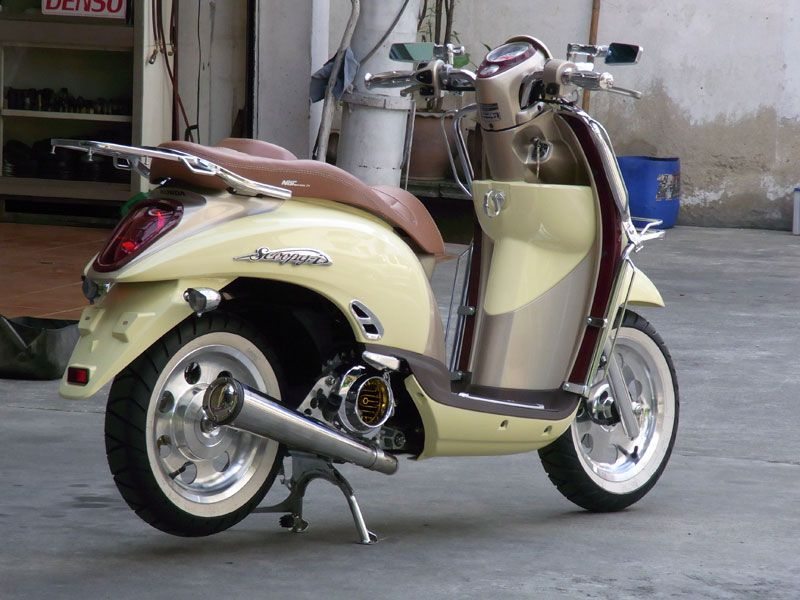 Scoopy I Classic Style Honda Motorcycles Motorbikes Choppers Crotch