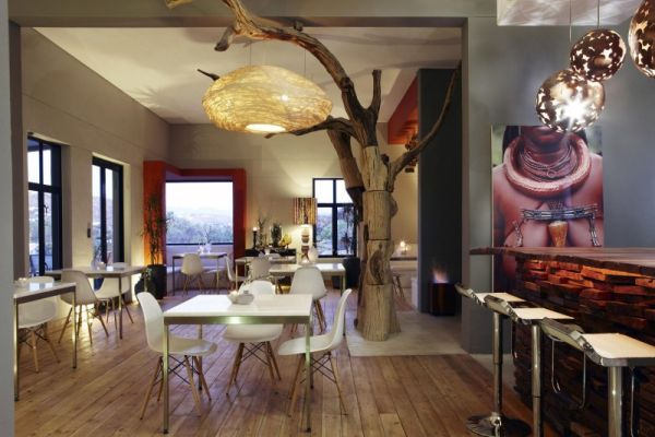 Natural Contemporary Interior Decor in an African Boutique Hotel : Artistic  Interior Design Olive Exclusive Hotel