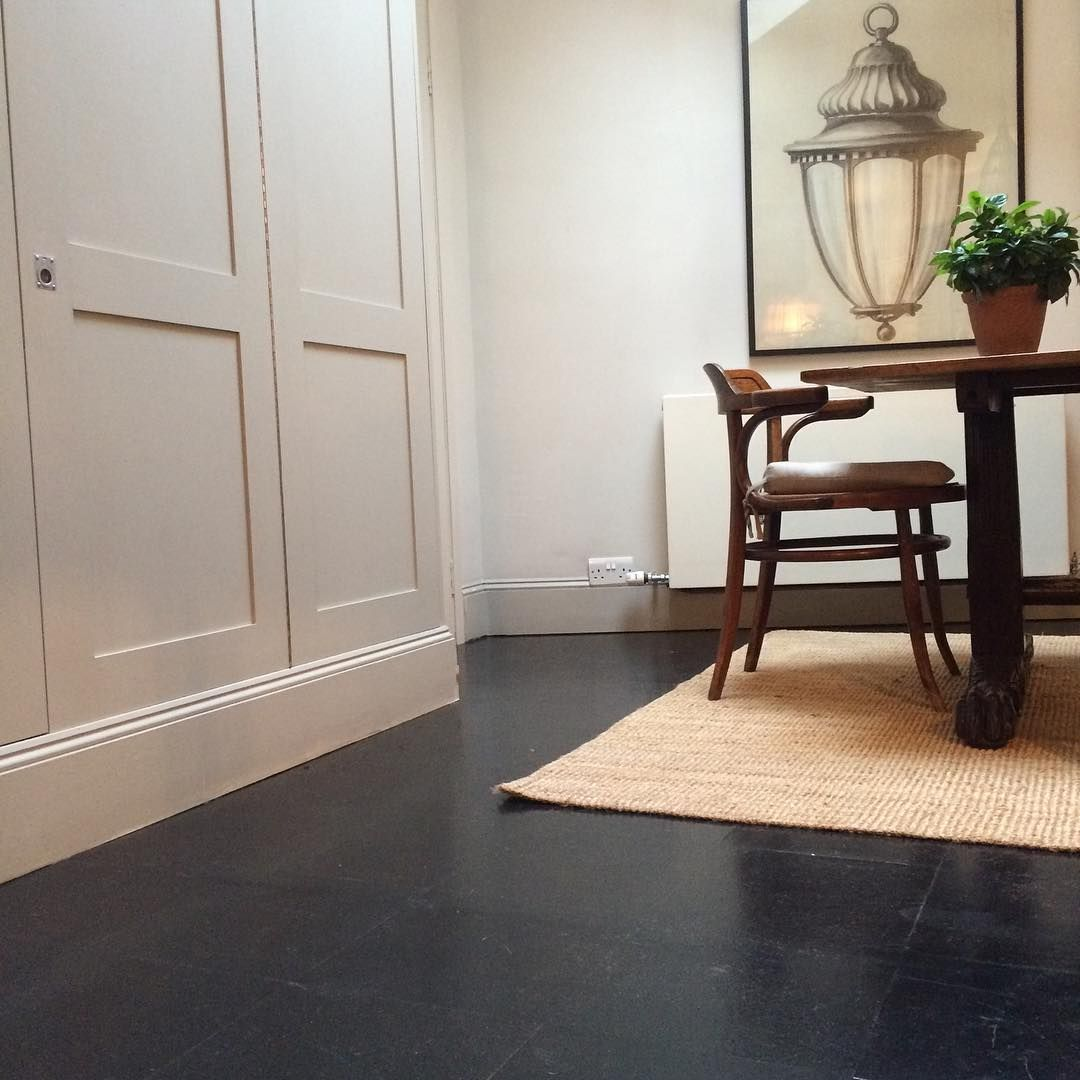Joanna Plant On Instagram This One S For You Benpentreath Elfredapownall A Cork Floor Stained With Wood Dye To D Cork Flooring Dark Cork Flooring Flooring