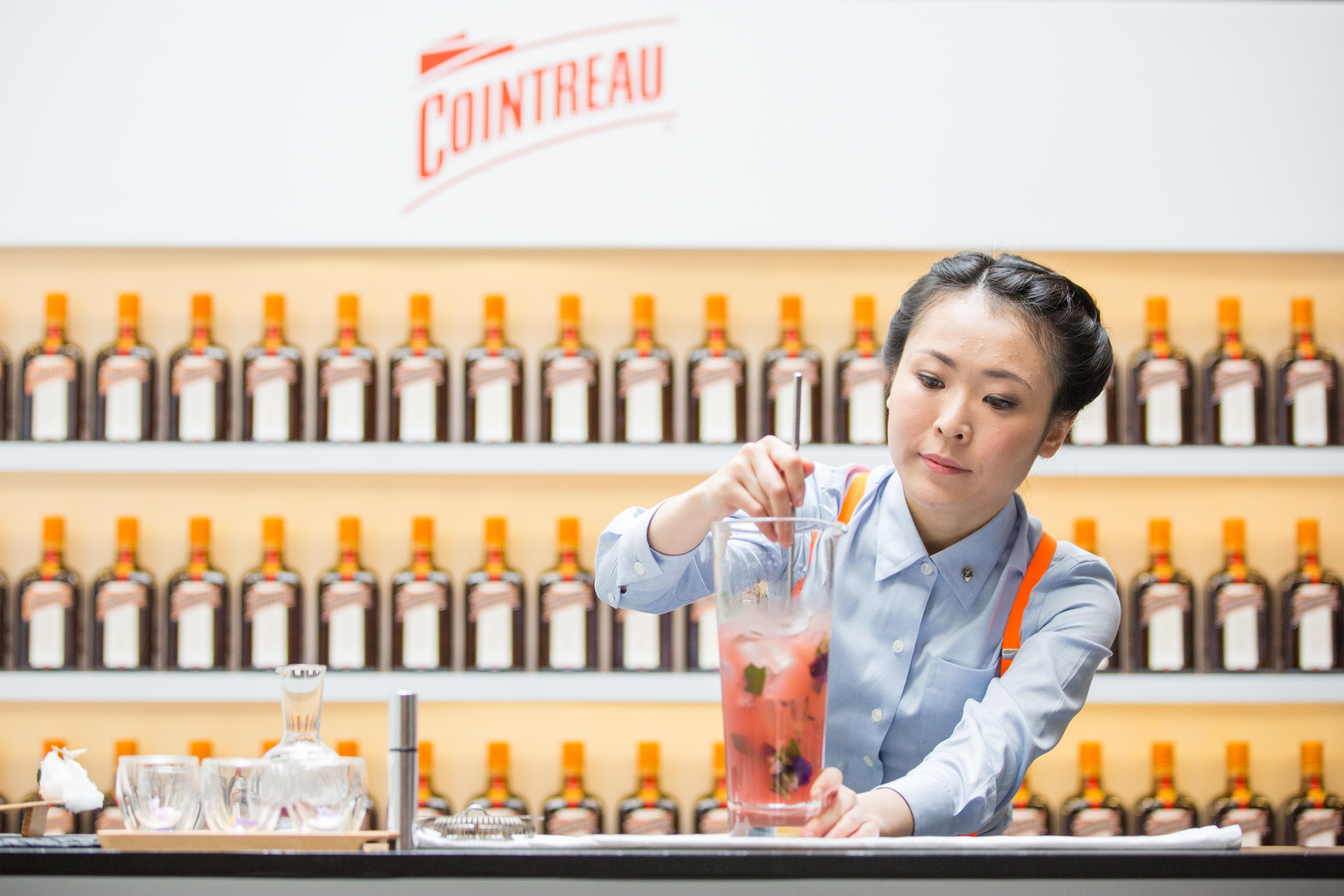 Blossom in Gin & Cointreau by Bannie Kang (from City Space - Swissotel Stamford Singapore)