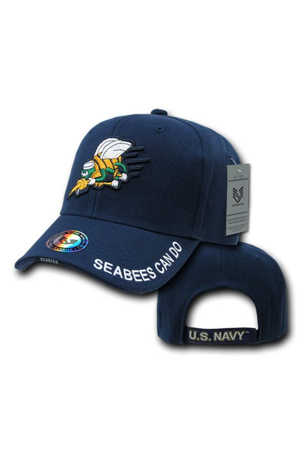 6dbeda3adadd4 NAVY The Legend SEABEES Hat (navy)