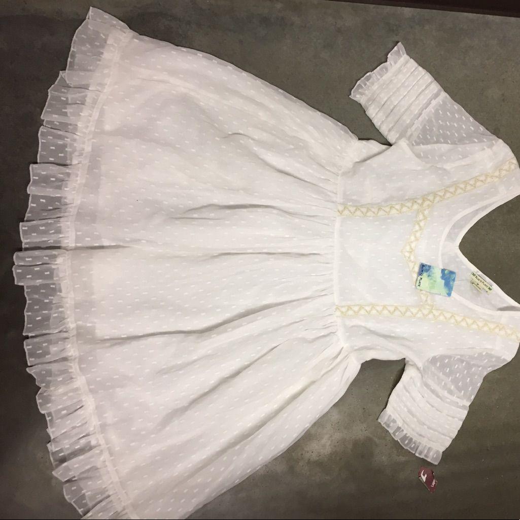 Nwt Anthropology Babydoll Dress
