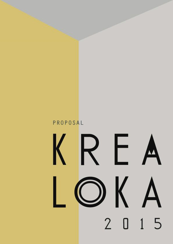 My first portfolio - front cover design of sponsorship proposal - what is in a design proposal