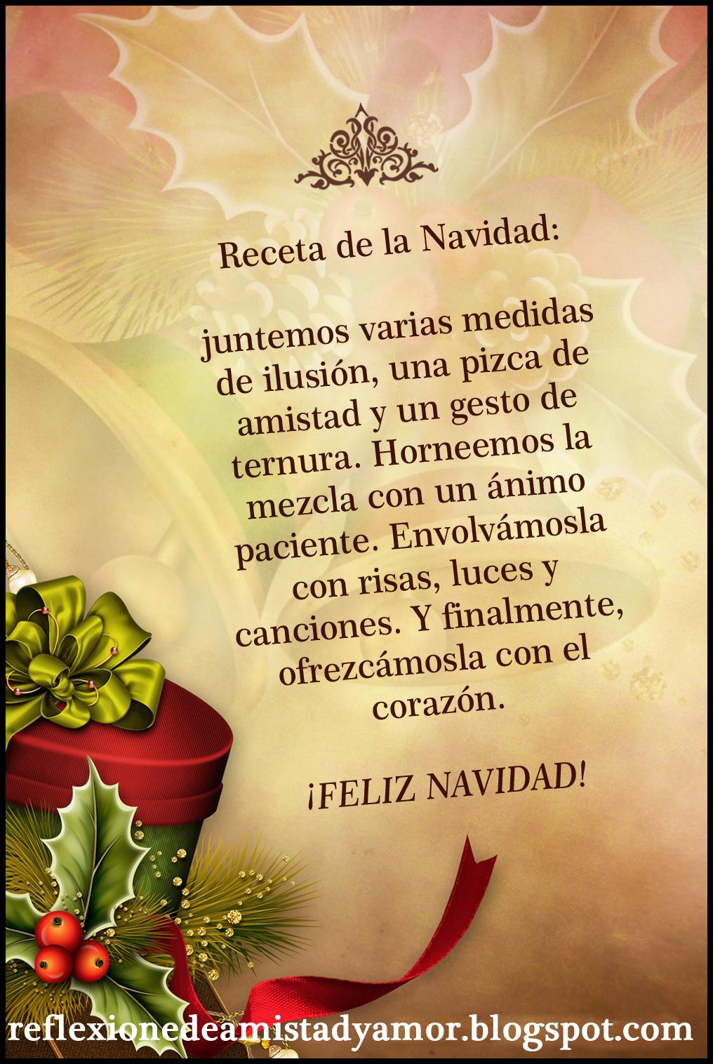 REFLEXIONES DE AMISTAD Y AMOR El regalo más grande en Navidad es Jesºs