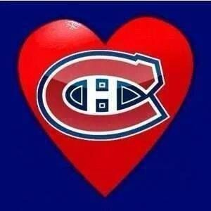 Love The Habs Montreal Canadiens Hockey Montreal Canadiens Chicago Cubs Logo