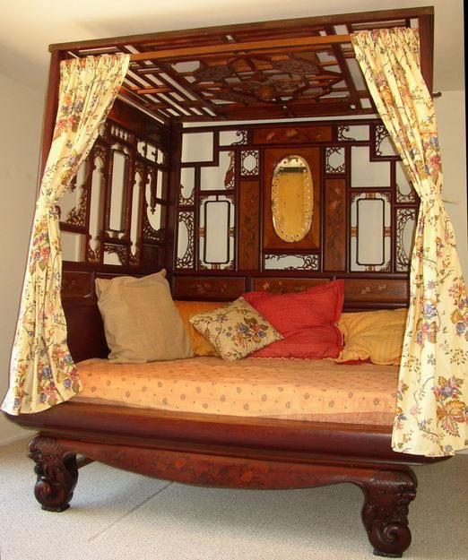 Tremendous Similar To My Chinese Wedding Bed I Have In Living Room Interior Design Ideas Helimdqseriescom