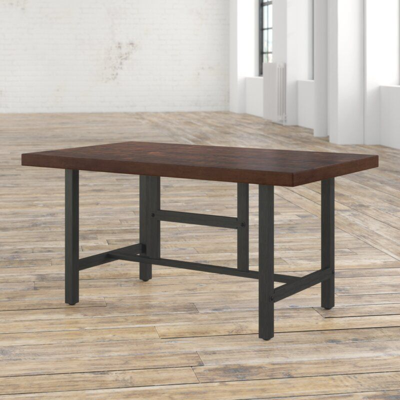 Charline Standard Height Dining Table In 2020 Pine Dining Table