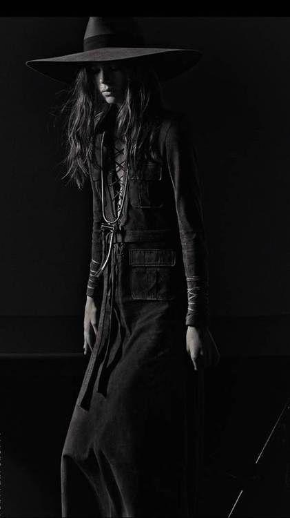 cowgirl | fashion | darkness | black white | fashion editorial | www.republicofyou.com.au