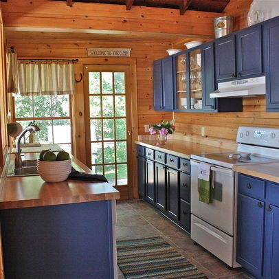 Best Knotty Pine Kitchen Cabinets Design Pictures Remodel 400 x 300