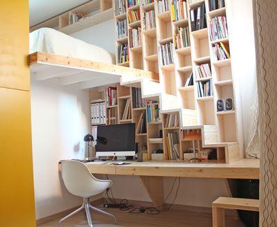 escalier 12 mod les d 39 escalier pour s 39 inspirer pinterest mezzanine lofts and tiny houses. Black Bedroom Furniture Sets. Home Design Ideas
