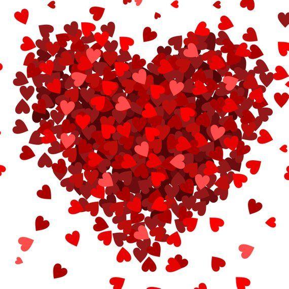 Small Hearts Big Heart Photo Backdrop // PolyPaper Photography Backdrop //  SIZES: 5'x5', 5'x6', 5'x7' // | Photo heart, Photo backdrop, Photography  backdrop